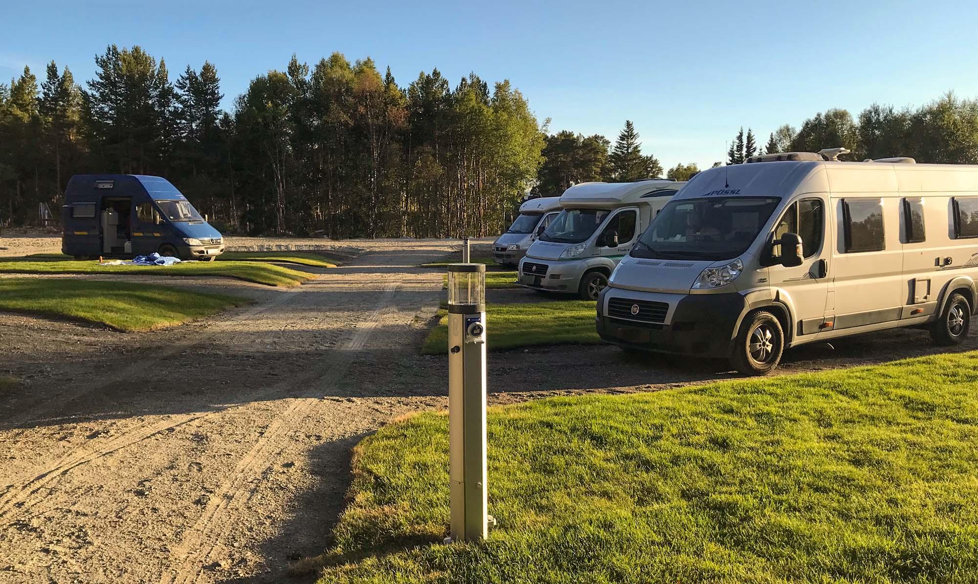 bobil camping Røros